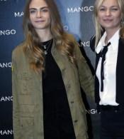 Cara Devingne & Kate Moss
