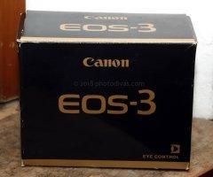 Reflex 35mm Canon EOS 3 a pellicola fotografica . Autofocus; Eye-controlled Aut