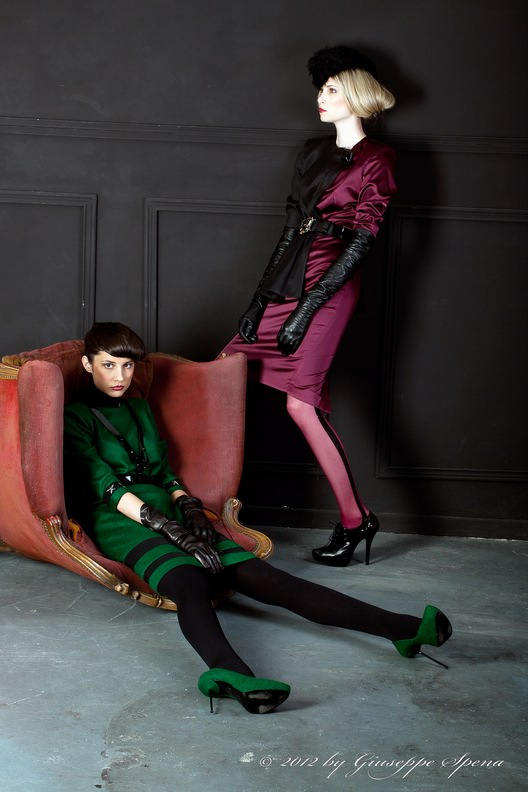 Giuseppe Spena photographer . dress Grinko