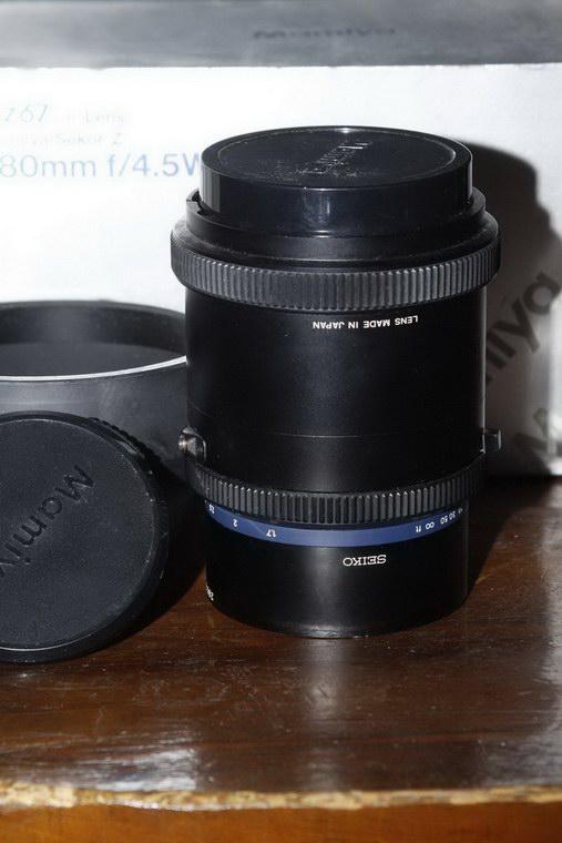 Mamiya Sekor Z 180mm pro II W-N f/4.5 per RZ 67