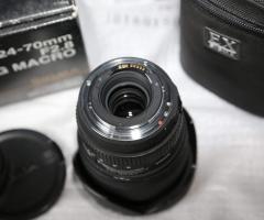 Sigma 24-70 macro f.2.8 per Canon
