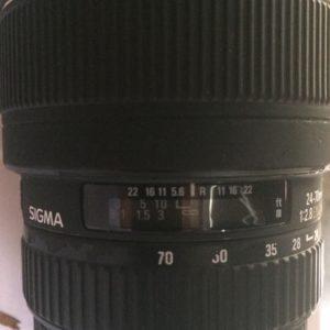 Sigma 24-70mm f/2.8 EX DG Macro Lente per Canon
